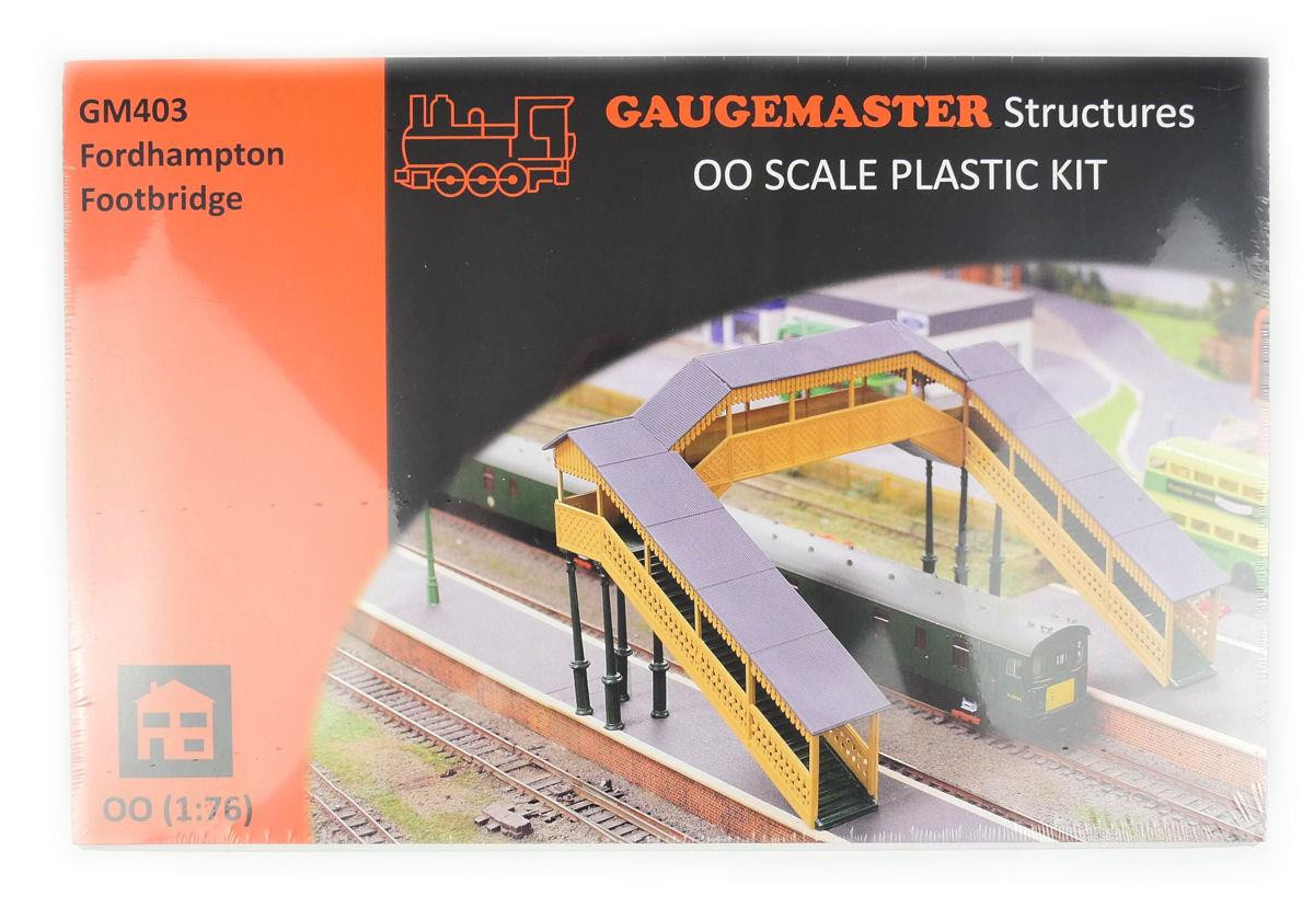 Fordhampton Footbridge /'OO/' Plastic Kit GM403 Tracked 48 Post Gaugemaster