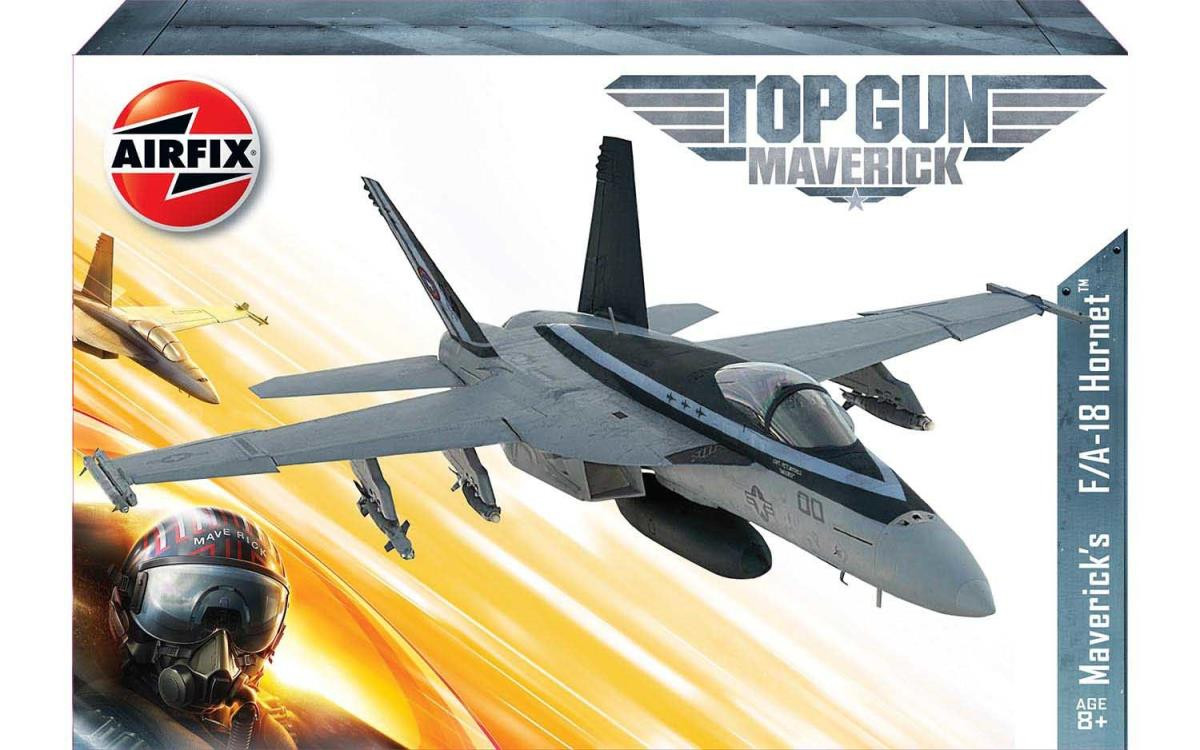 #D# Top Gun Maverick's F-18 Hornet (1:72 Scale)