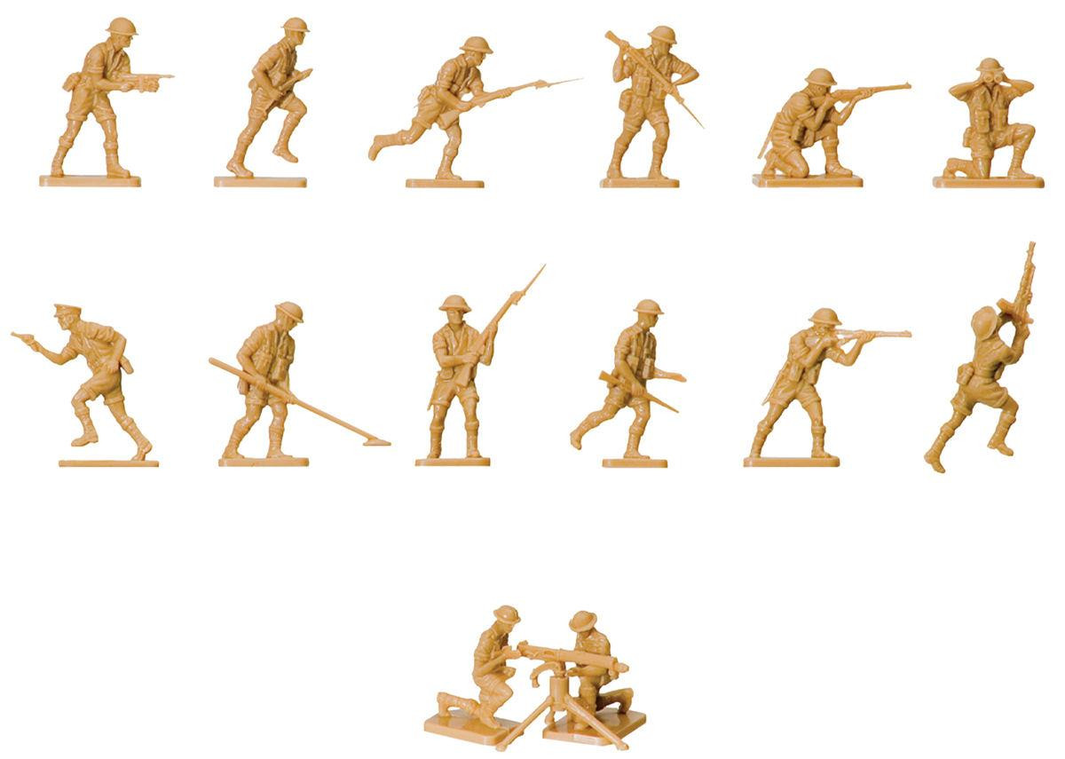 Vintage Classics WWII British 8th Army (1:76 Scale)