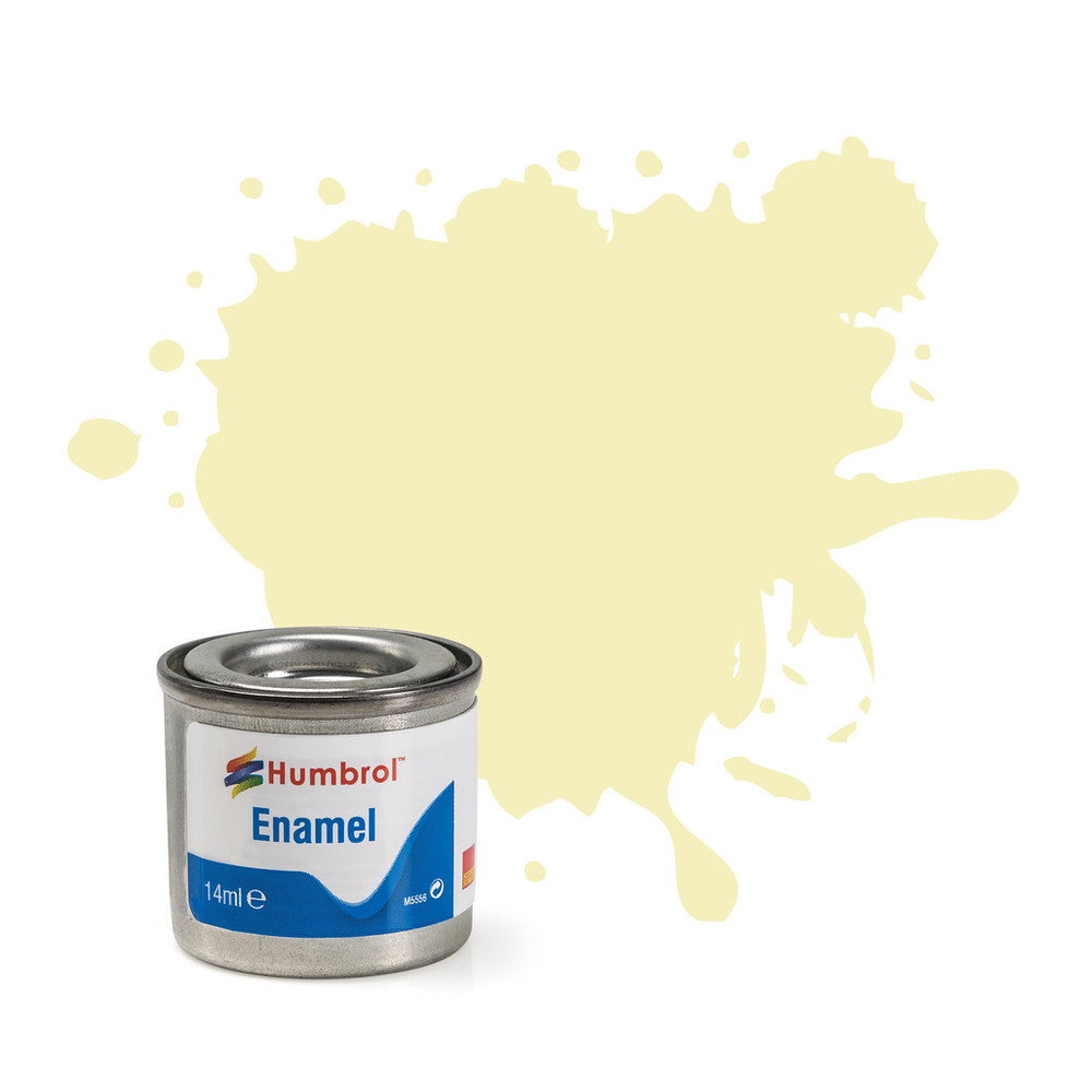 No 41 Ivory Gloss Enamel Paint (14ml)
