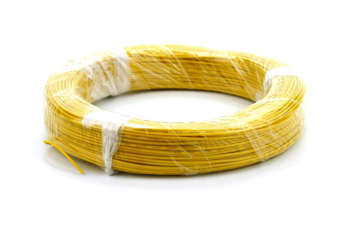 Yellow Wire (7 x 0.2mm) 100m