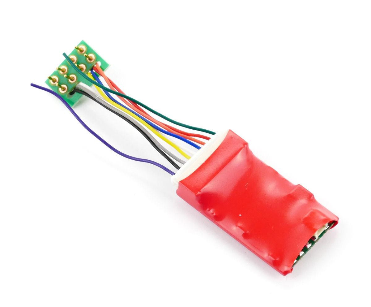 Ruby Series 2fn Standard DCC Decoder 8 Pin