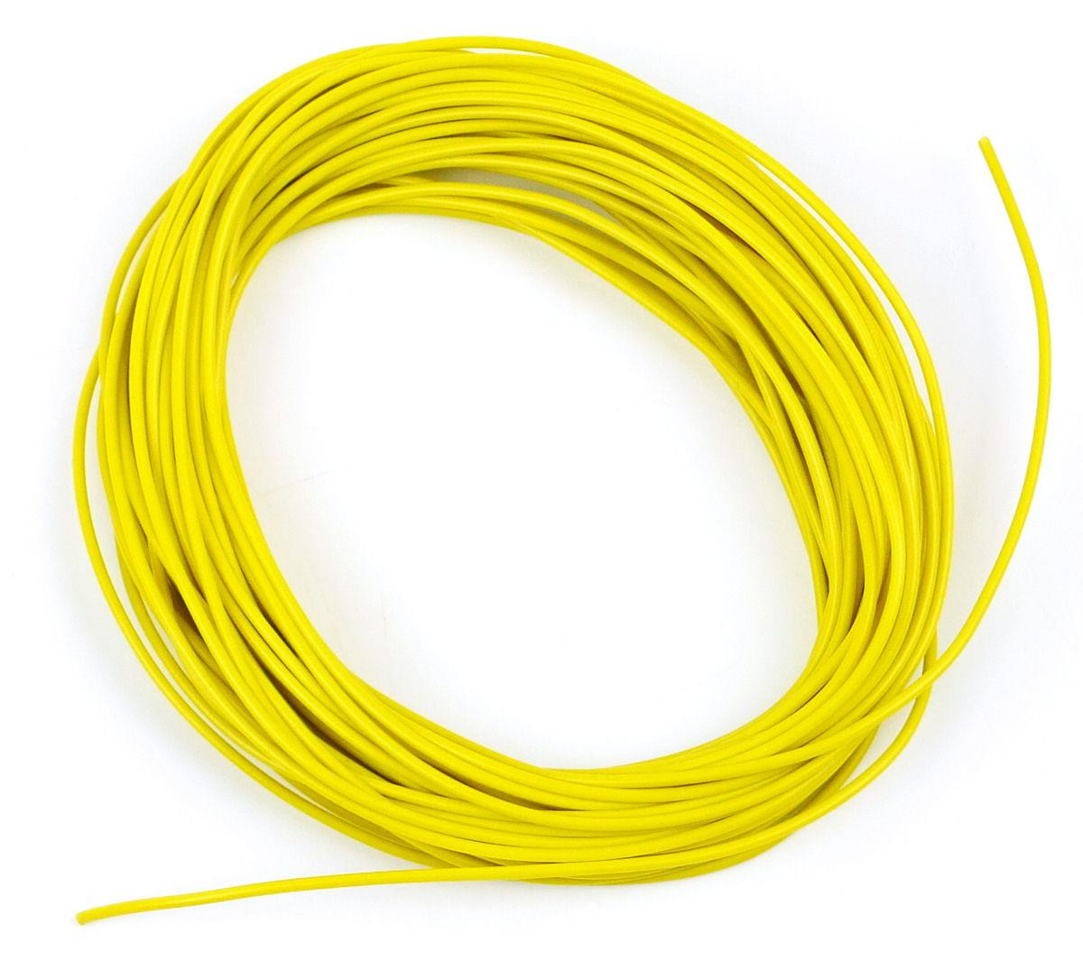 Yellow Wire (7 x 0.2mm) 10m