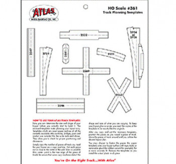 HO Scale Track Planning Templates