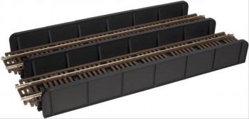 Code 100 Through Plate Girder Bridge Double Track