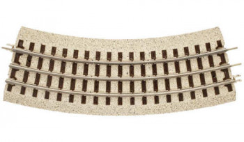 #D# Industrial Roadbed Track (O-36) Curved Track