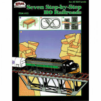 Seven Step by Step HO Railroads Booklet