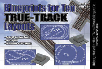 Blueprints for Ten HO True Track Layouts Booklet