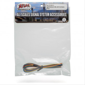 Signal Attachment Cable Dual 4 Pin Harness DIY Set