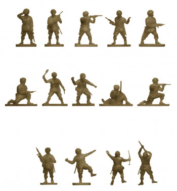 Vintage Classics WWII US Paratroops (1:76 Scale)