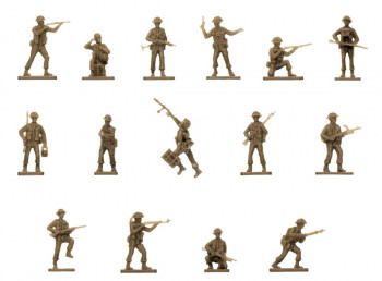 Vintage Classics WWII British Infantry (1:76 Scale)