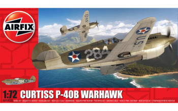 *Curtiss P-40B Warhawk (1:72 Scale)