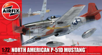 P-51D Mustang (1:72 Scale)