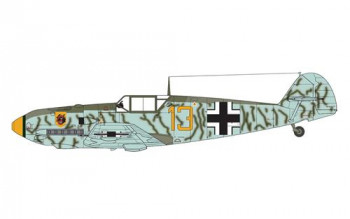Messerschmitt Bf109E-4 (1:72 Scale)