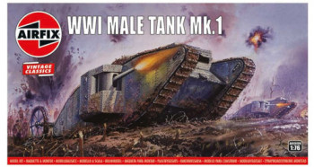 Vintage Classics WWI  Male  Tank (1:76 Scale)