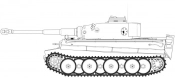 Tiger 1 Early Production Version (1:35 Scale)