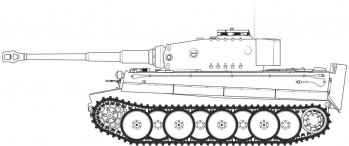Tiger-1 Mid Version (1:35 Scale)