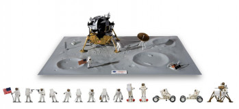 One Step For Man 50th Anniversary Moon Landing (1:72 Scale)