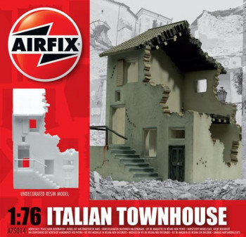 Italian Town House Undecorated Resin (1:76 Scale)