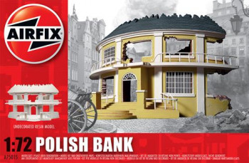 Polish Bank Undecorated Resin (1:72 Scale)