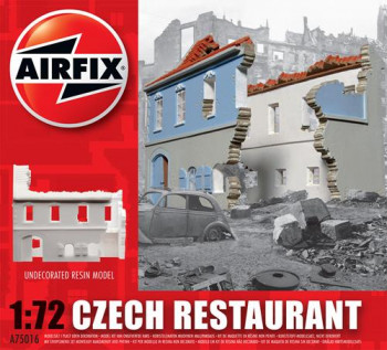 Czech Restaurant Undecorated Resin (1:72 Scale)