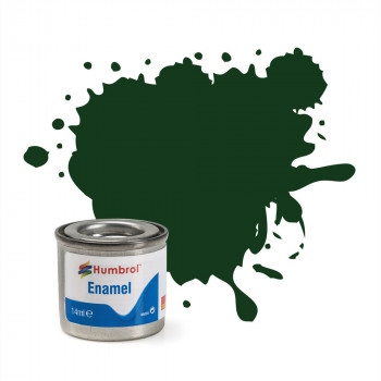 No 3 Brunswick Green Gloss Enamel Paint (14ml)