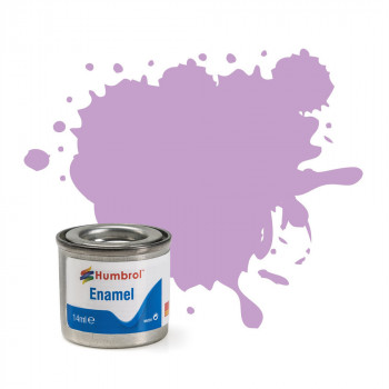 No 42 Violet Matt Enamel Paint (14ml)