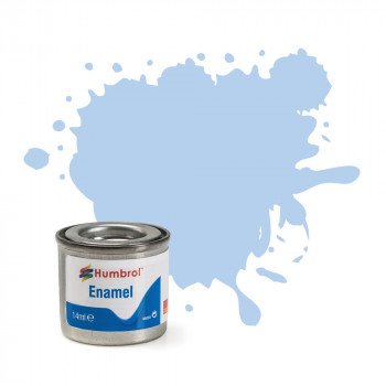 No 44 Pastel Blue Matt Enamel Paint (14ml)