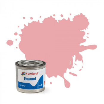 No 57 Pastel Pink Matt Enamel Paint (14ml)
