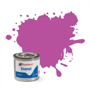 No 58 Magenta Matt Enamel Paint (14ml)