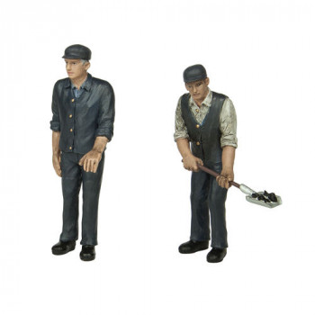 Fireman and Driver Figure Set