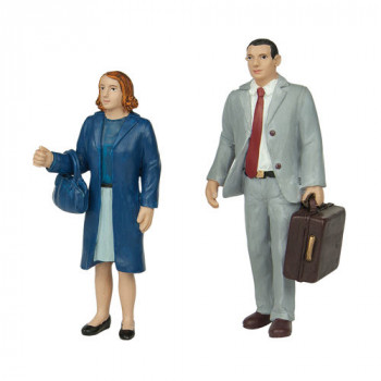 Standing Man and Woman Figure Set