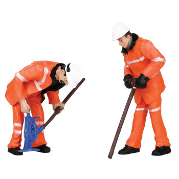 Permanent Way Workers Figure Set