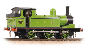 Class E1 0-6-0T 2173 NER Lined Green