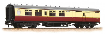 Thompson Corridor 3rd Class Brake Coach BR Crimson/Cream