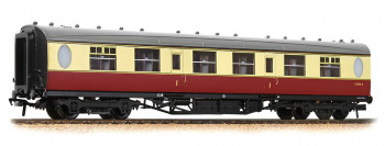 Thompson Corridor 1st Class Coach BR Crimson/Cream