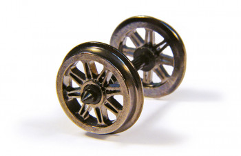 Metal Split Spoked Wagon Wheelsets (10)