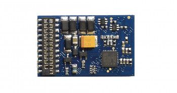 EZ Command 1a 4fn 21 Pin DCC Decoder - DC Compatible