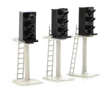 3 Aspect Platform Mounted Signals N Scale (3)