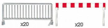 Crowd Control Barriers Kit