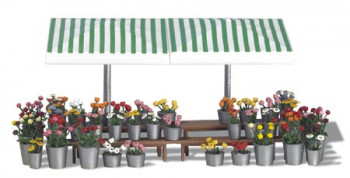 Market Stall with Flowers Kit