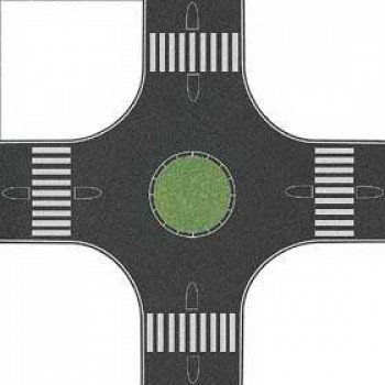 Roundabout 160x160mm for 40mm Roads