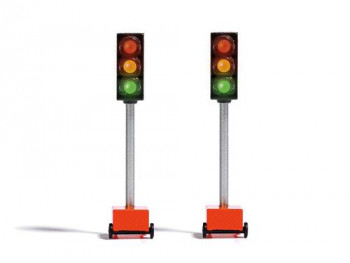 Temporary Traffic Lights Lit Kit