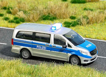 Mercedes V Class Police Blue Roof Light
