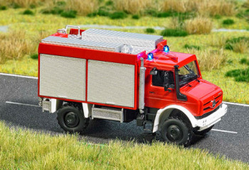 Unimog U5023 Fire Engine Blue Flashing Roof Light