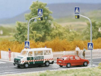 Pedestrian Crossing with Lights Kit