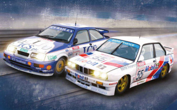 Touring Car Legends Twin Pack Ford Sierra RS500 & BMW E30