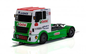 *Racing Truck Red/Green/White