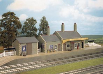 Stone Built GWR Country Station Craftsman Kit