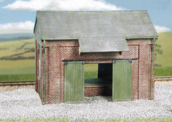 Brick Goods Shed with Loading Dock Craftsman Kit